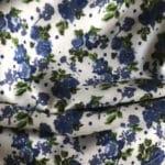 Fleurs bleues Liberty