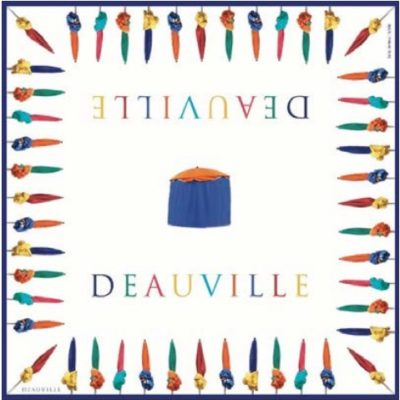Foulard Deauville plage